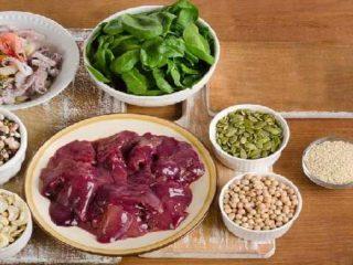 Makanan Yang Mengandung Zat Besi Tinggi