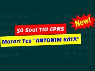 Soal TIU CPNS Antonim